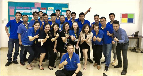 Shanghai Unilever held a sales training meeting at Pinjia